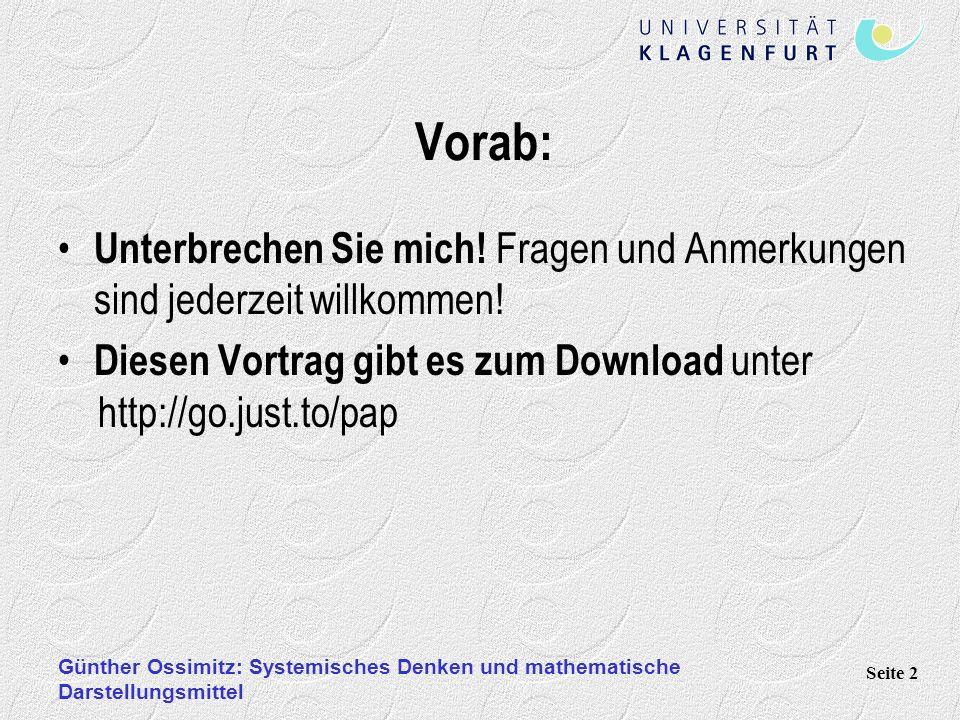 Vorab: Unterbrechen Sie mich! Fragen und Anmerkungen sind jederzeit willkommen! Diesen Vortrag gibt es zum Download unter http://go.just.to/pap.