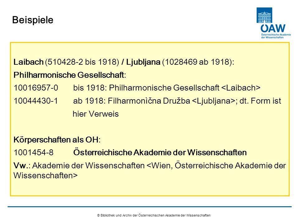 Beispiele Laibach (510428-2 bis 1918) / Ljubljana (1028469 ab 1918):