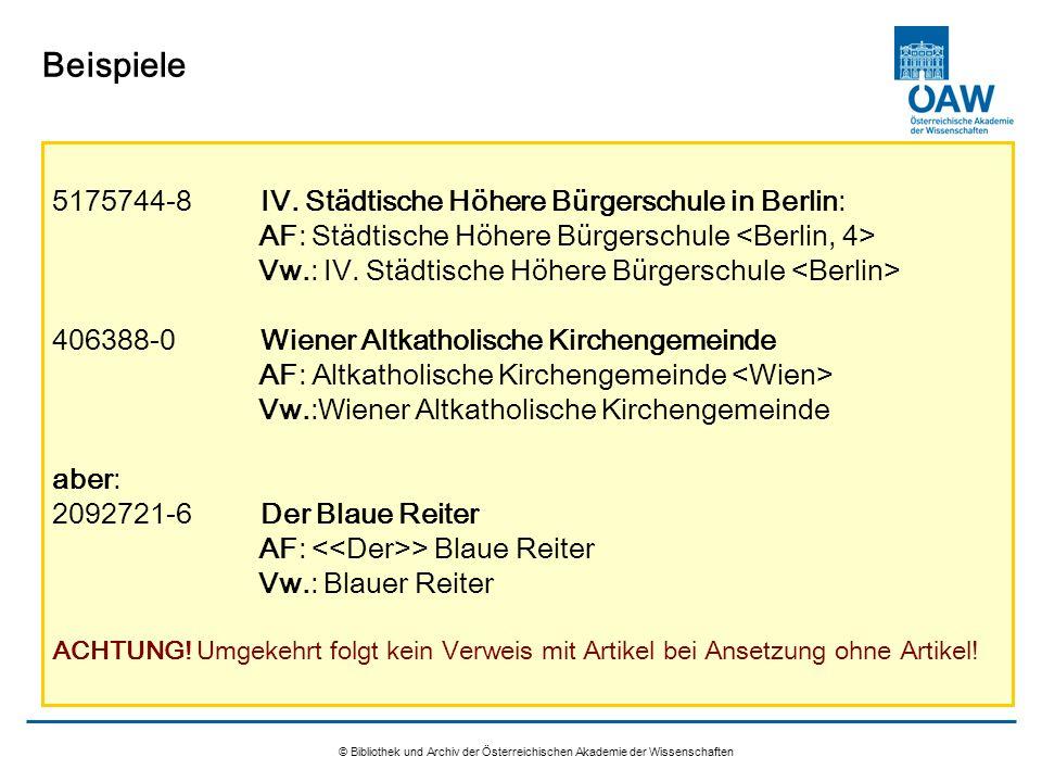 Beispiele 5175744-8 IV. Städtische Höhere Bürgerschule in Berlin: