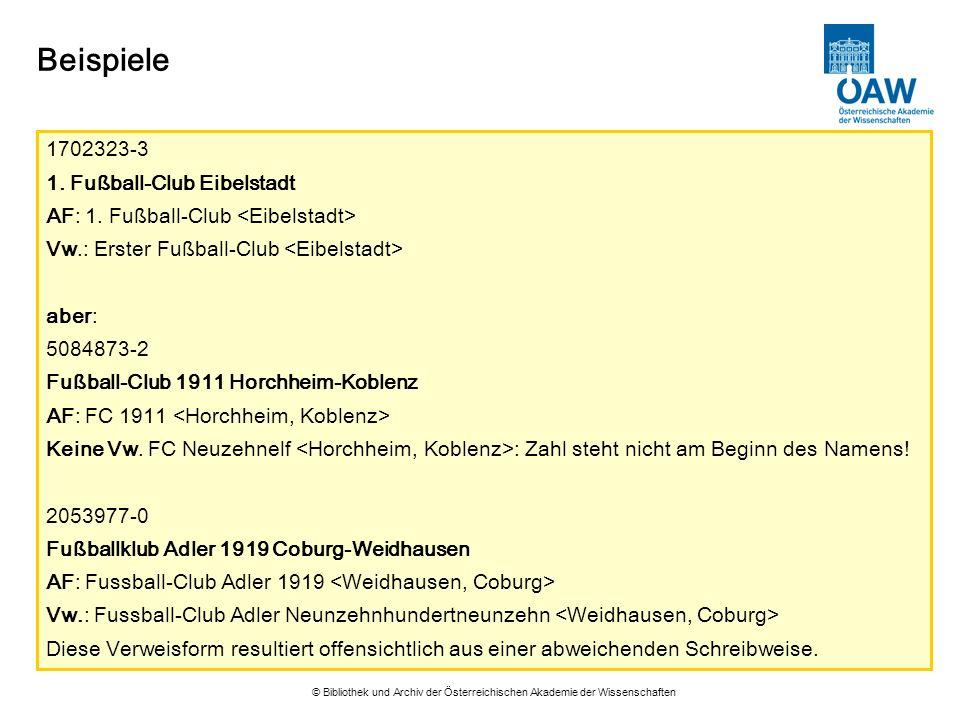 Beispiele 1702323-3 1. Fußball-Club Eibelstadt