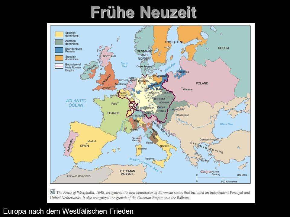 Frühe Neuzeit Europa nach dem Westfälischen Frieden