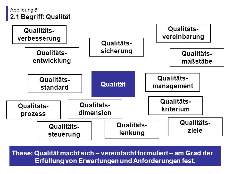Abbildung 8: 2.1 Begriff: Qualität