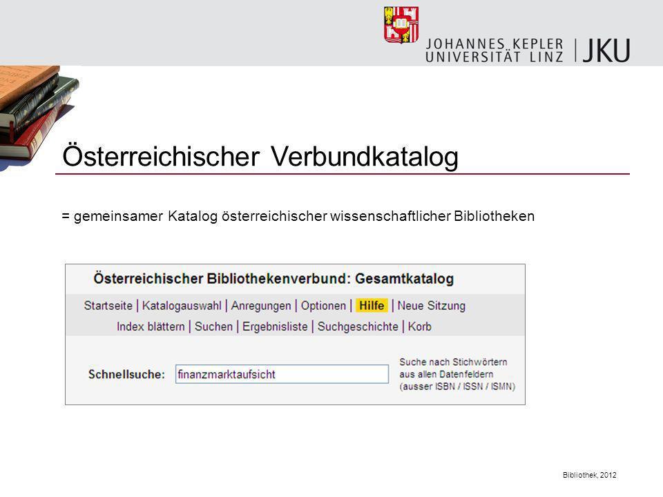 Österreichischer Verbundkatalog