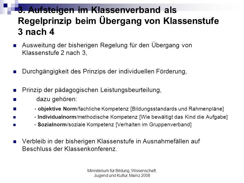 Ministerium für Bildung, Wissenschaft, Jugend und Kultur, Mainz 2008