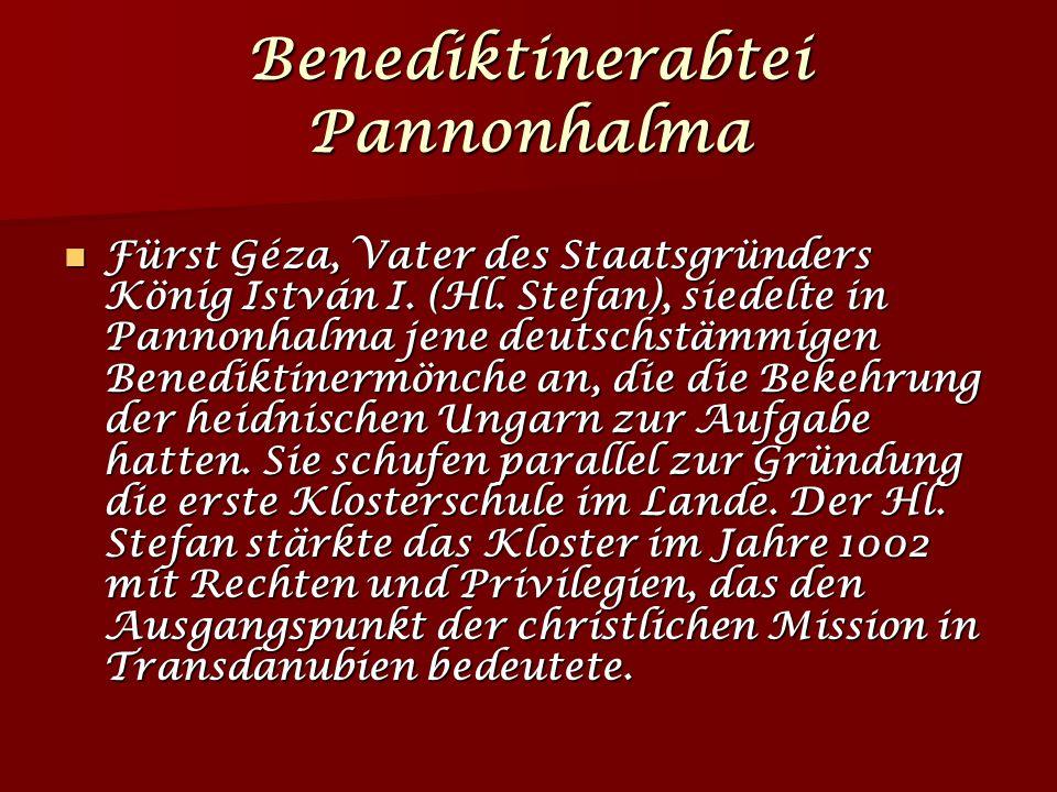 Benediktinerabtei Pannonhalma