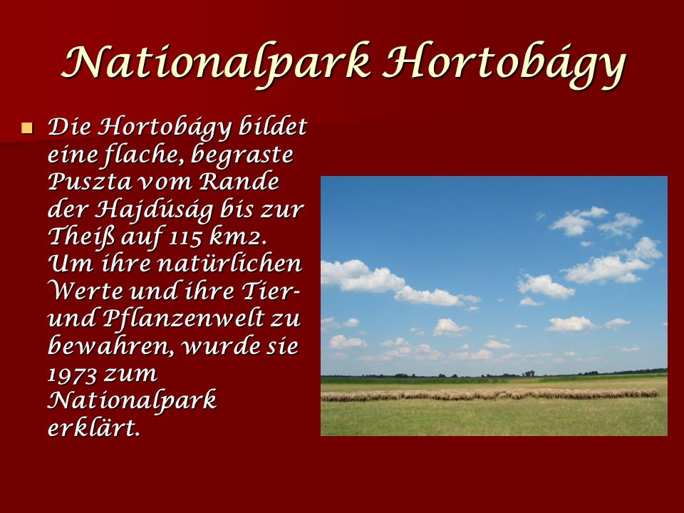 Nationalpark Hortobágy