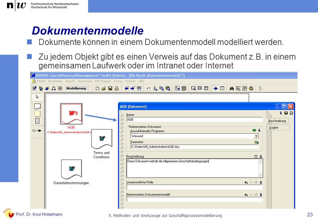 5. Methoden und Werkzeuge zur Geschäftsprozessmodellierung