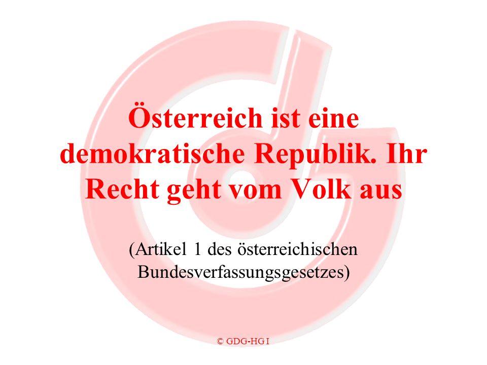 (Artikel 1 des österreichischen Bundesverfassungsgesetzes)