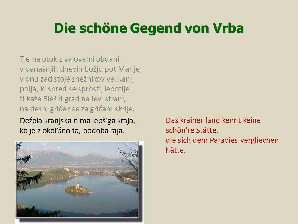 Die schöne Gegend von Vrba