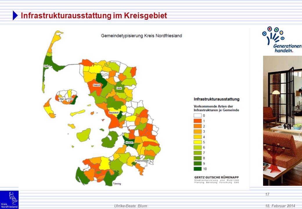 Infrastrukturausstattung im Kreisgebiet
