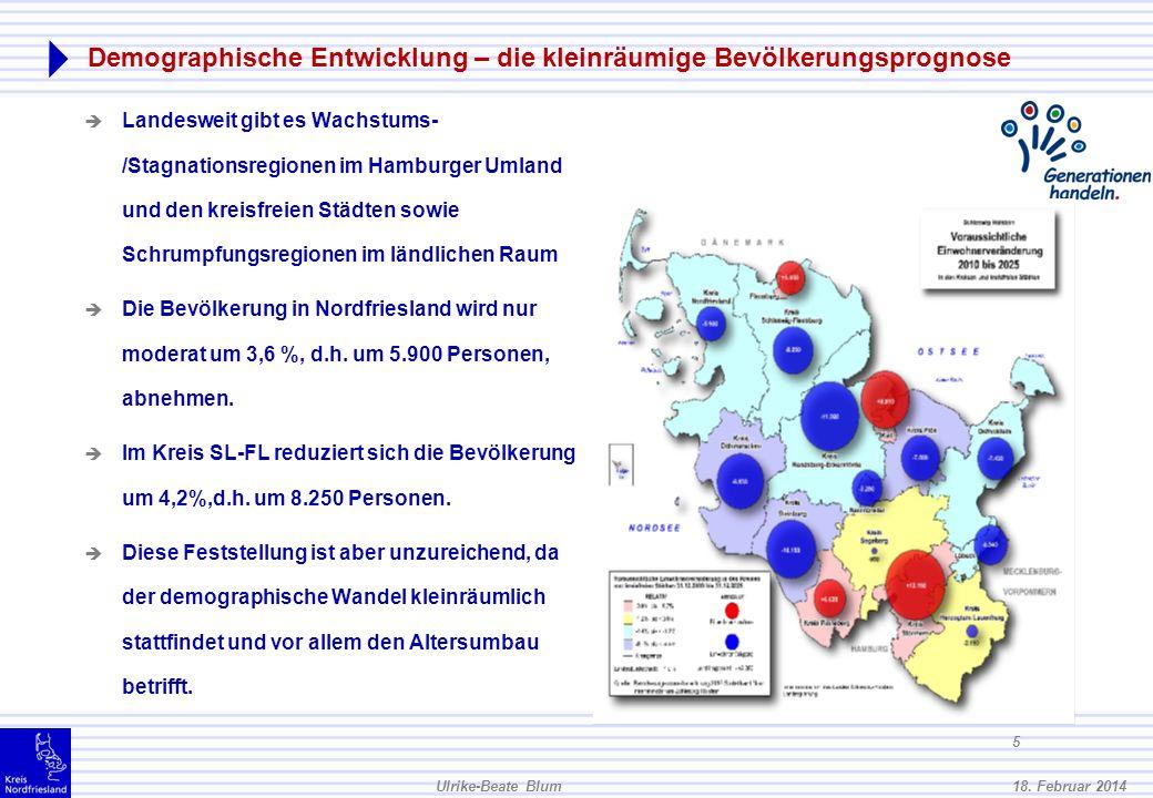 Demographische Entwicklung – die kleinräumige Bevölkerungsprognose