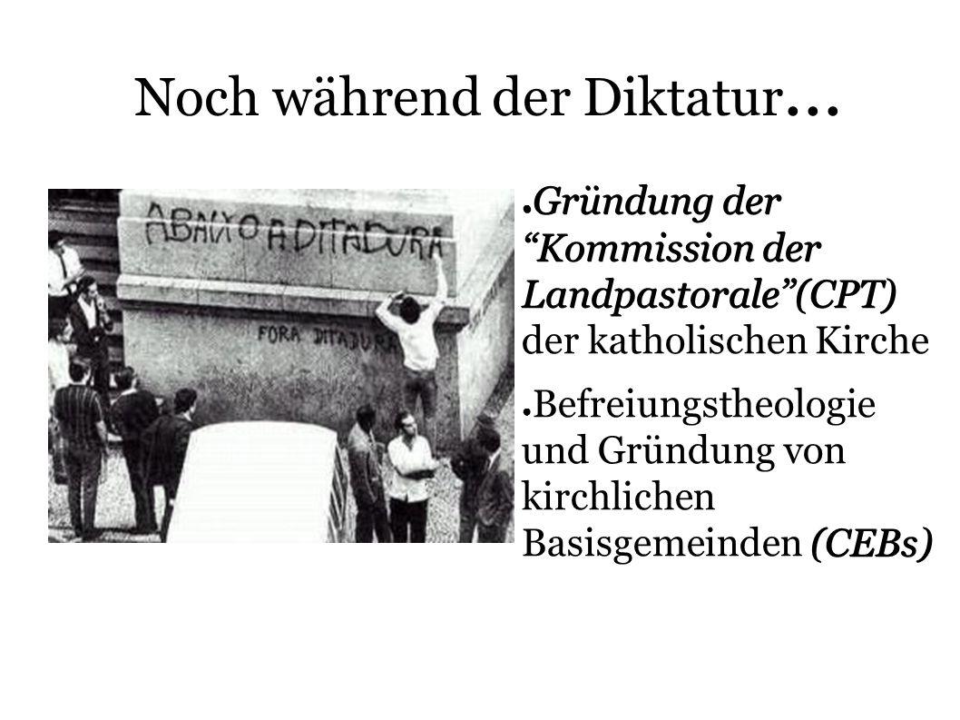 Noch während der Diktatur...