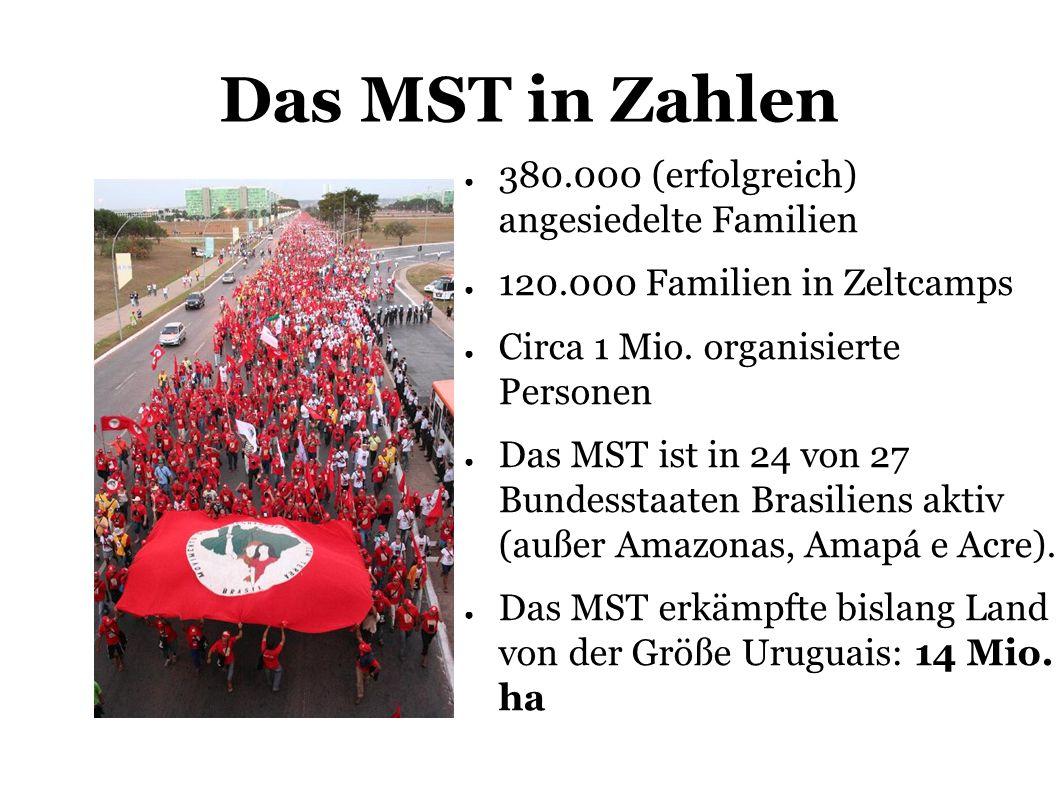 Das MST in Zahlen 380.000 (erfolgreich) angesiedelte Familien