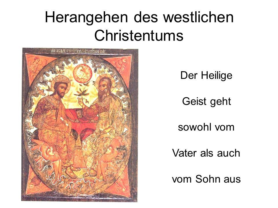 Herangehen des westlichen Christentums