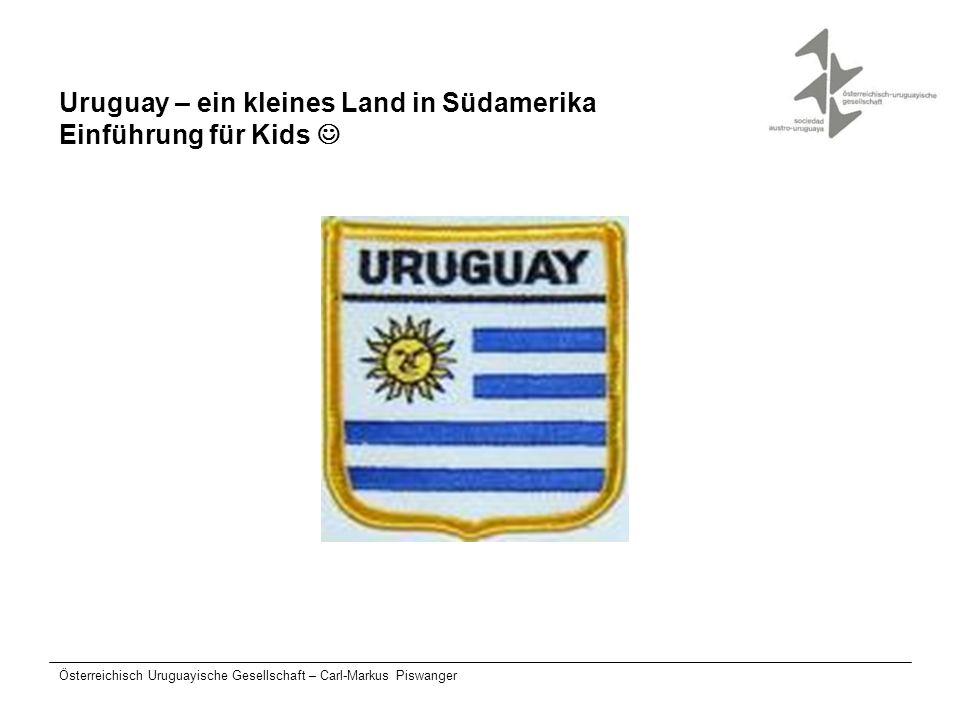 Uruguay – ein kleines Land in Südamerika Einführung für Kids 