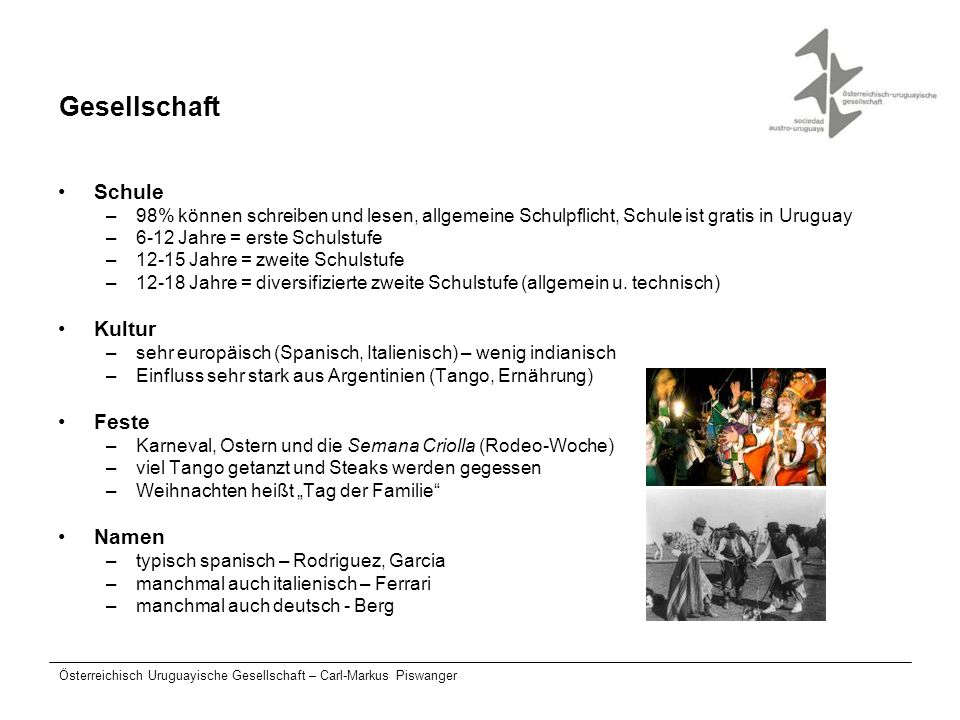 Gesellschaft Schule Kultur Feste Namen