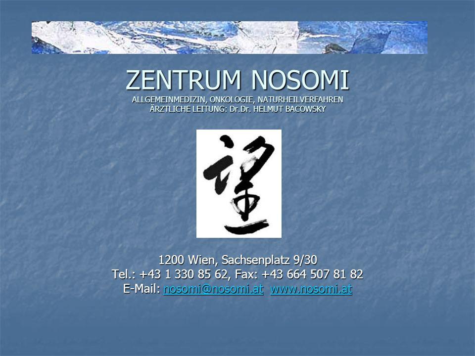 E-Mail: nosomi@nosomi.at www.nosomi.at