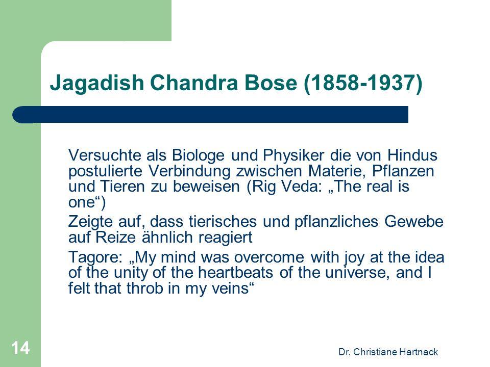 Jagadish Chandra Bose (1858-1937)
