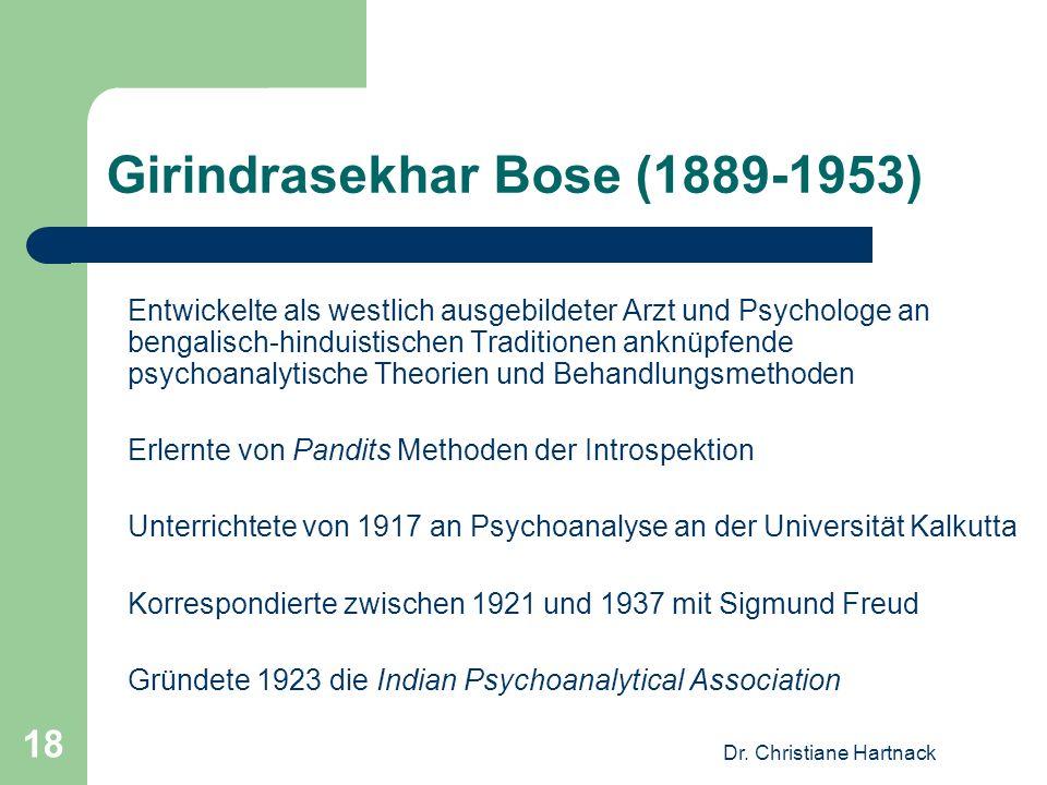 Girindrasekhar Bose (1889-1953)