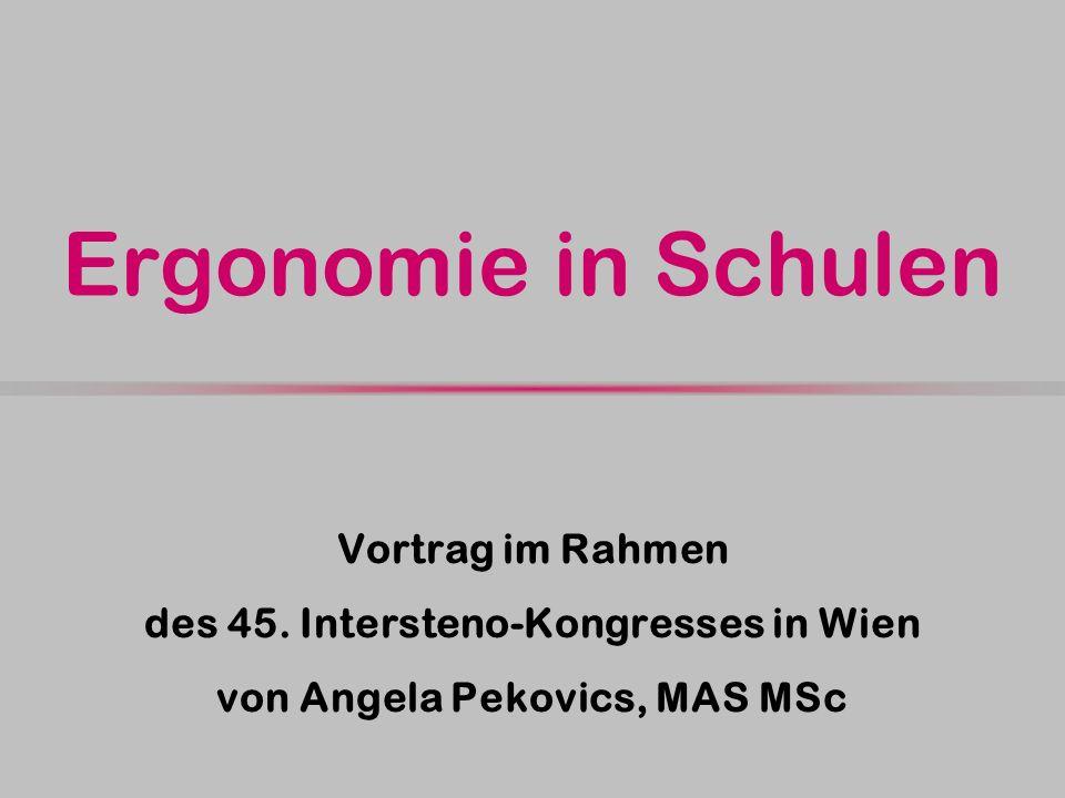 des 45. Intersteno-Kongresses in Wien von Angela Pekovics, MAS MSc