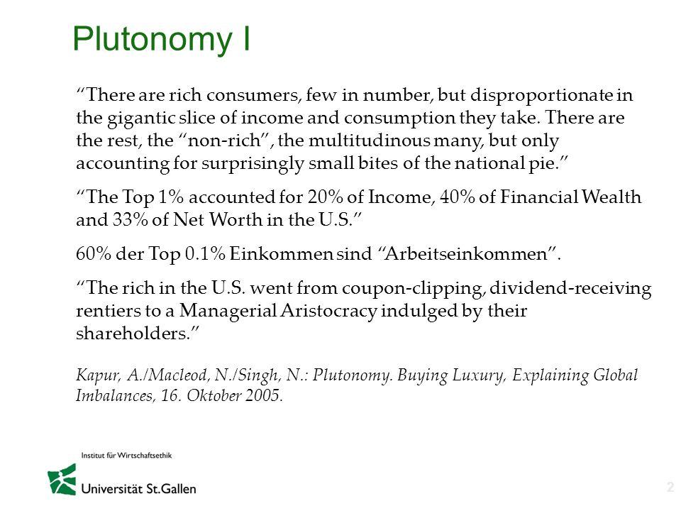 Plutonomy I
