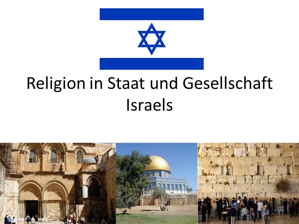 Religion in Staat und Gesellschaft Israels