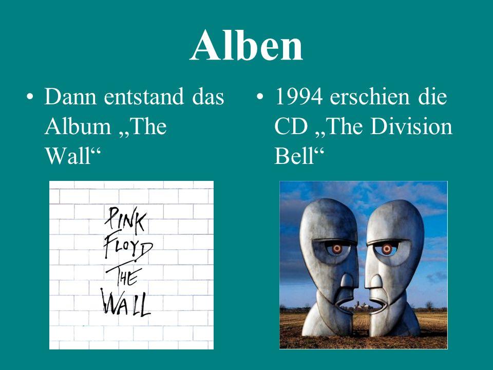 """Alben Dann entstand das Album """"The Wall"""