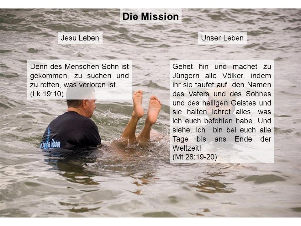 Die Mission Jesu Leben Unser Leben