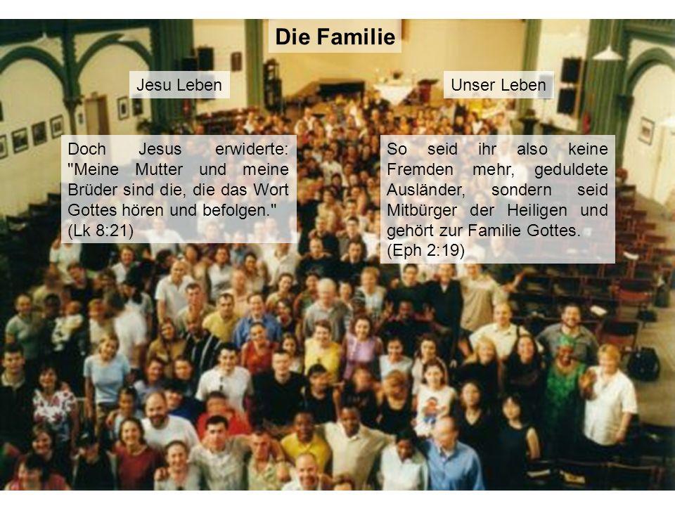 Die Familie Jesu Leben Unser Leben
