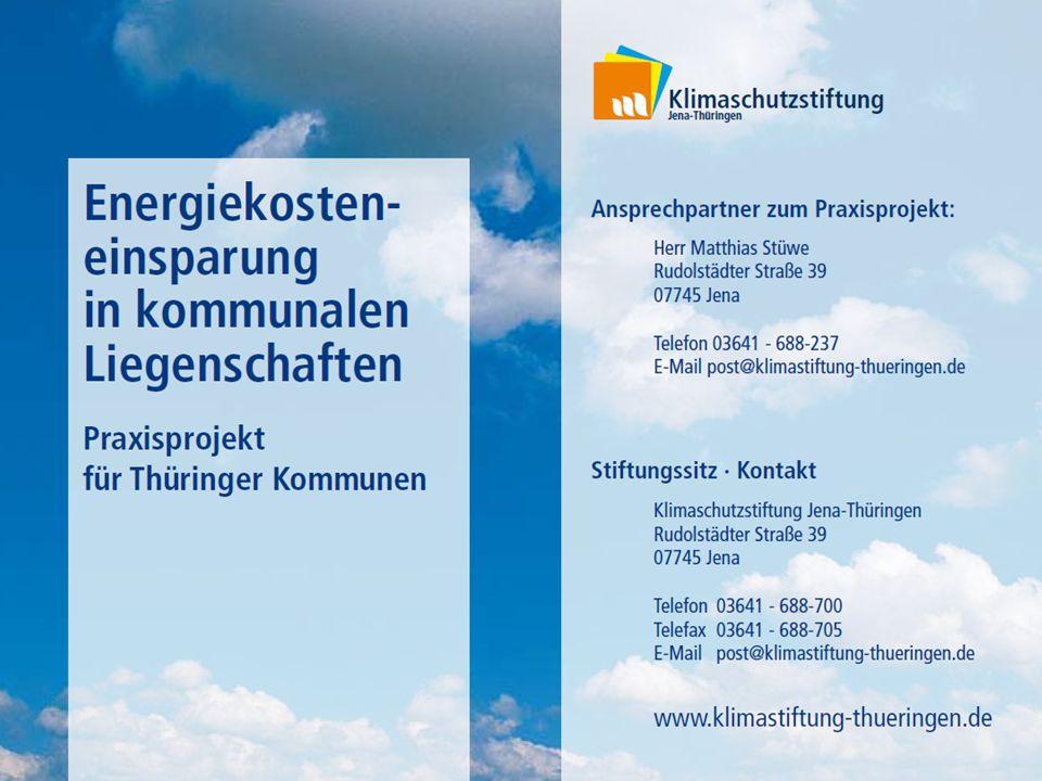 Energiekosteneinsparung in kommunalen Liegenschaften 1