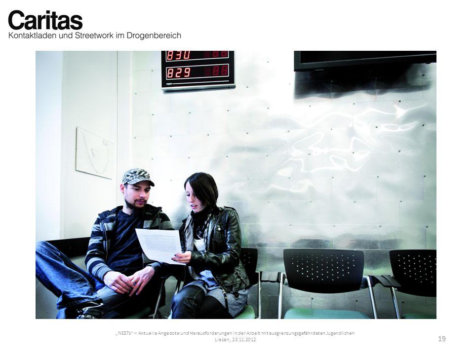 """""""NEETs – Aktuelle Angebote und Herausforderungen in der Arbeit mit ausgrenzungsgefährdeten Jugendlichen"""