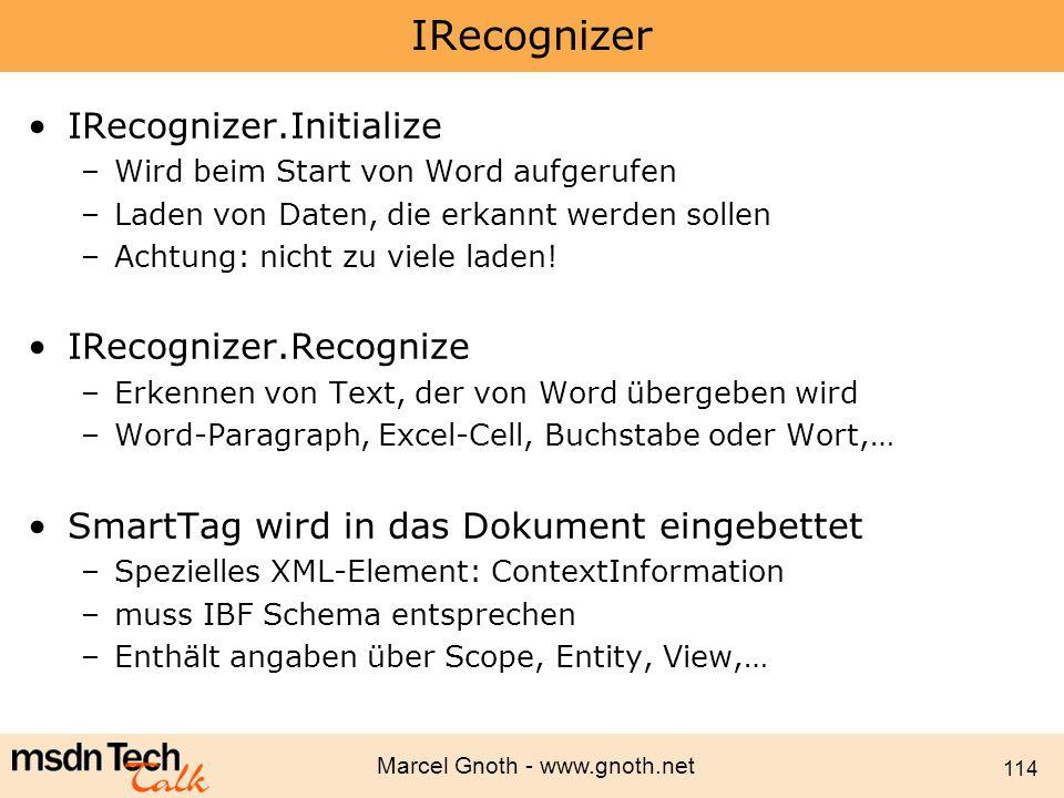 IRecognizer IRecognizer.Initialize IRecognizer.Recognize