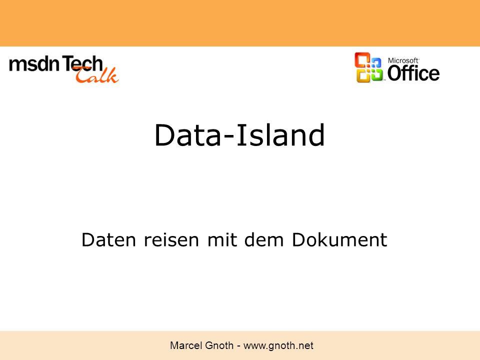Daten reisen mit dem Dokument