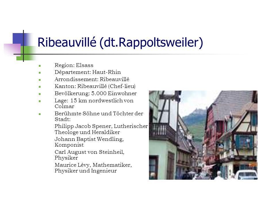Ribeauvillé (dt.Rappoltsweiler)