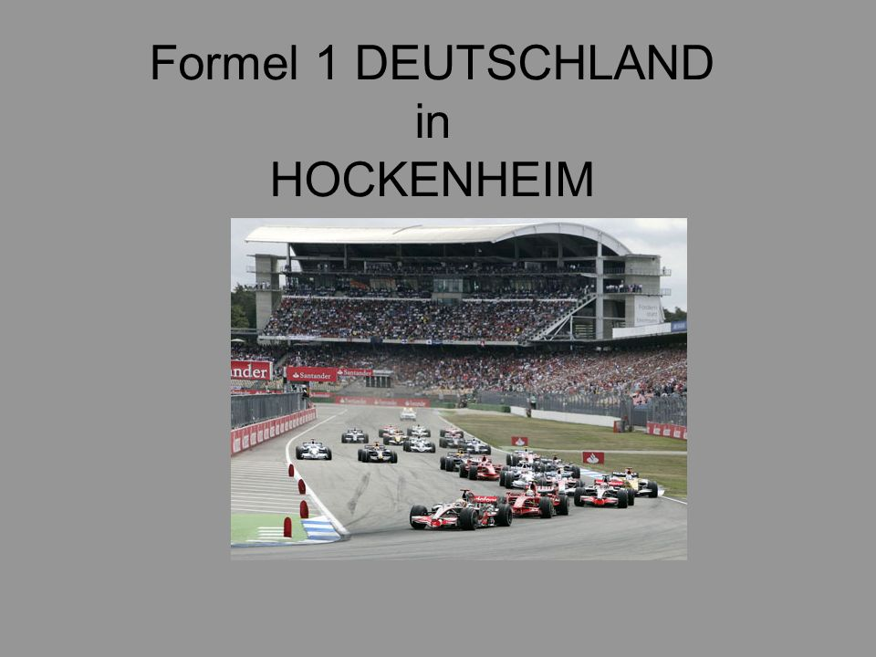 formel 1 deutschland in hockenheim ppt video online herunterladen. Black Bedroom Furniture Sets. Home Design Ideas
