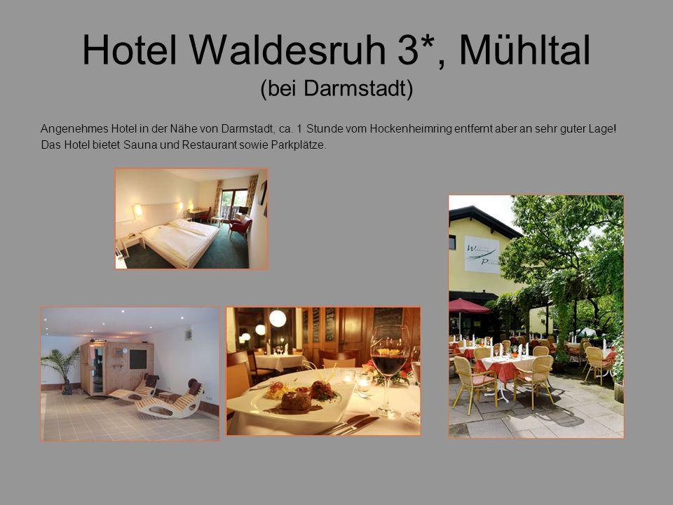 Hotel Waldesruh 3*, Mühltal (bei Darmstadt)