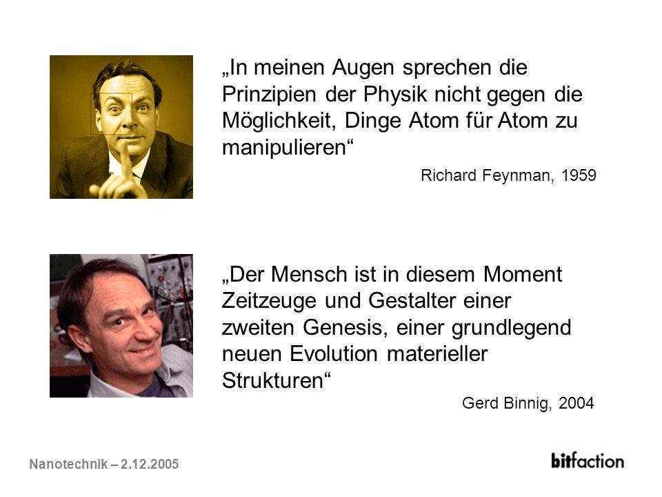 """""""In meinen Augen sprechen die Prinzipien der Physik nicht gegen die"""