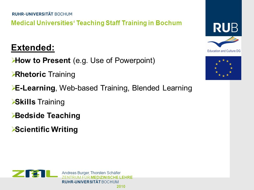 Extended: How to Present (e.g. Use of Powerpoint) Rhetoric Training