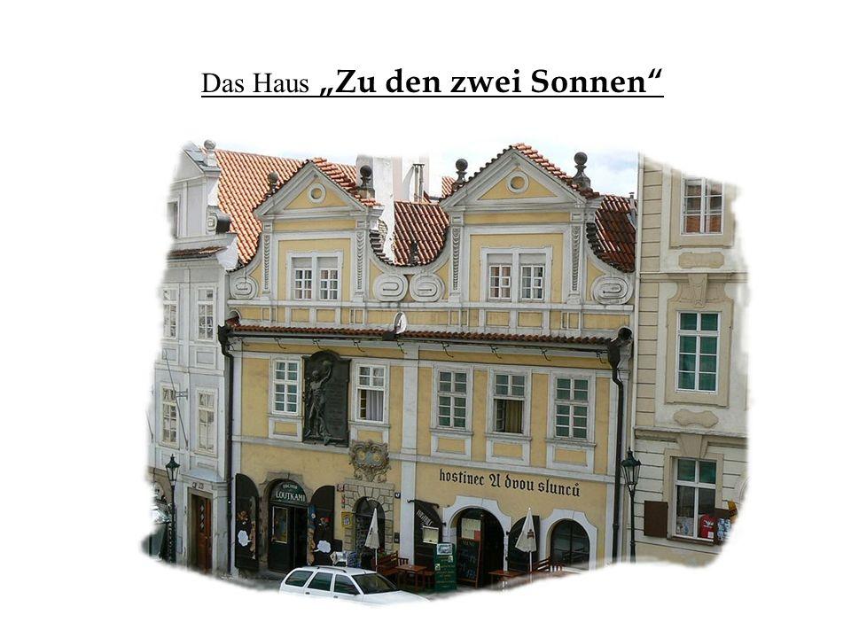 """Das Haus """"Zu den zwei Sonnen"""