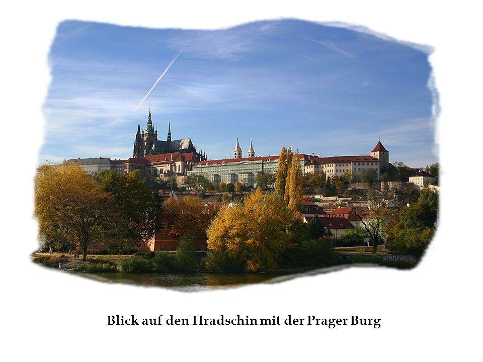 Blick auf den Hradschin mit der Prager Burg