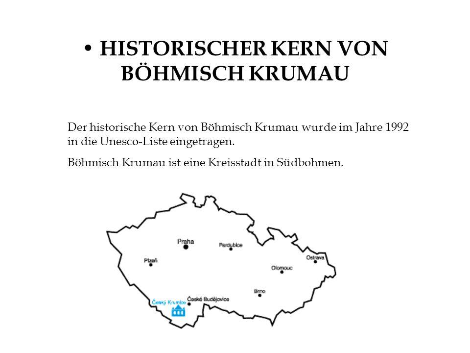HISTORISCHER KERN VON BÖHMISCH KRUMAU