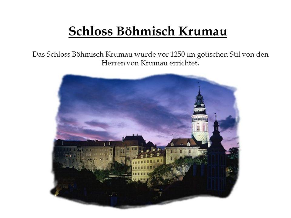 Schloss Böhmisch Krumau