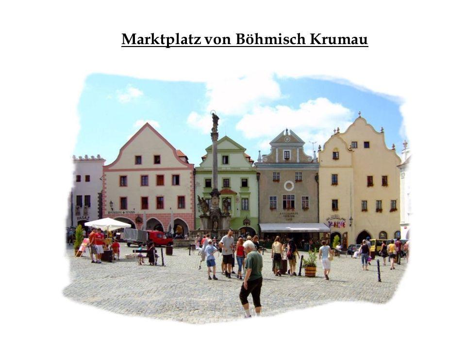 Marktplatz von Böhmisch Krumau