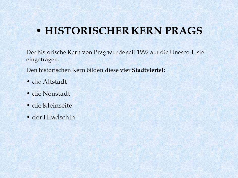 HISTORISCHER KERN PRAGS