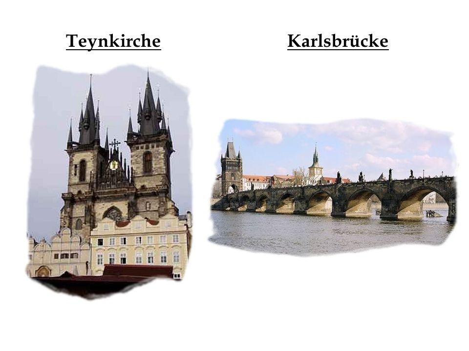 Teynkirche Karlsbrücke