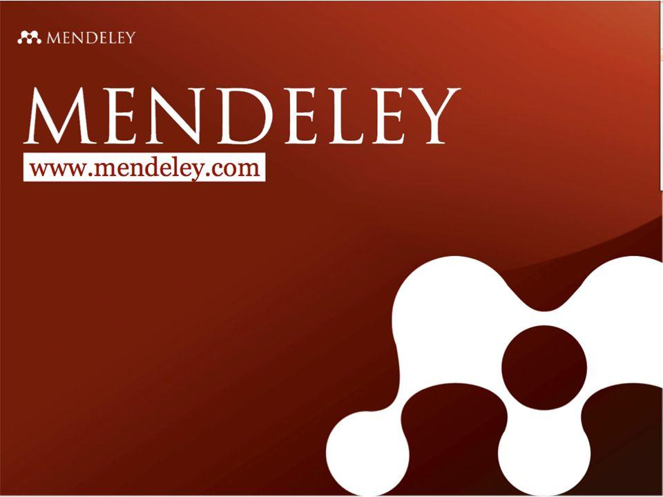 Mendeley 26.9.2011