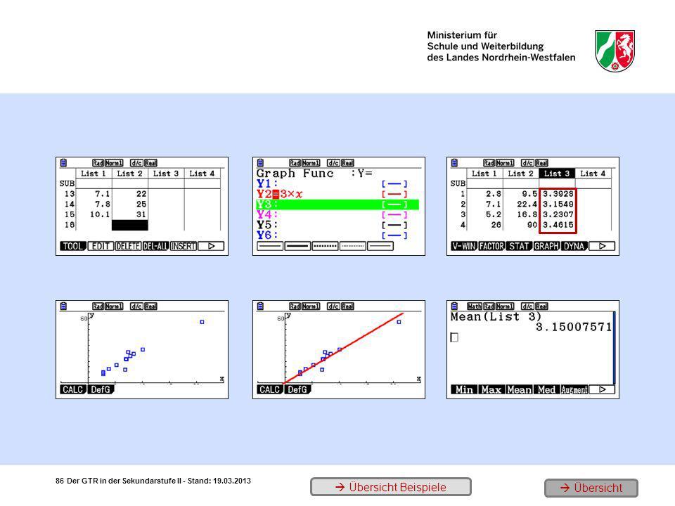 Die Rohdaten der Erhebung 3. Ein erstes Modell (proportional) 5.