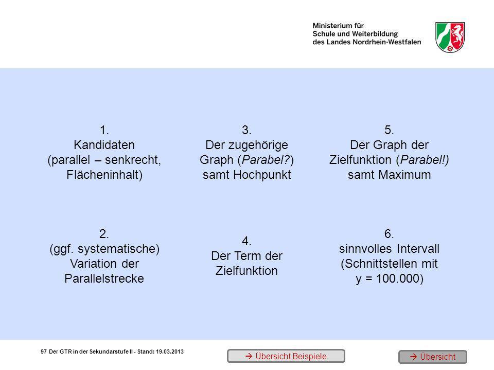 (parallel – senkrecht, Flächeninhalt) 3.