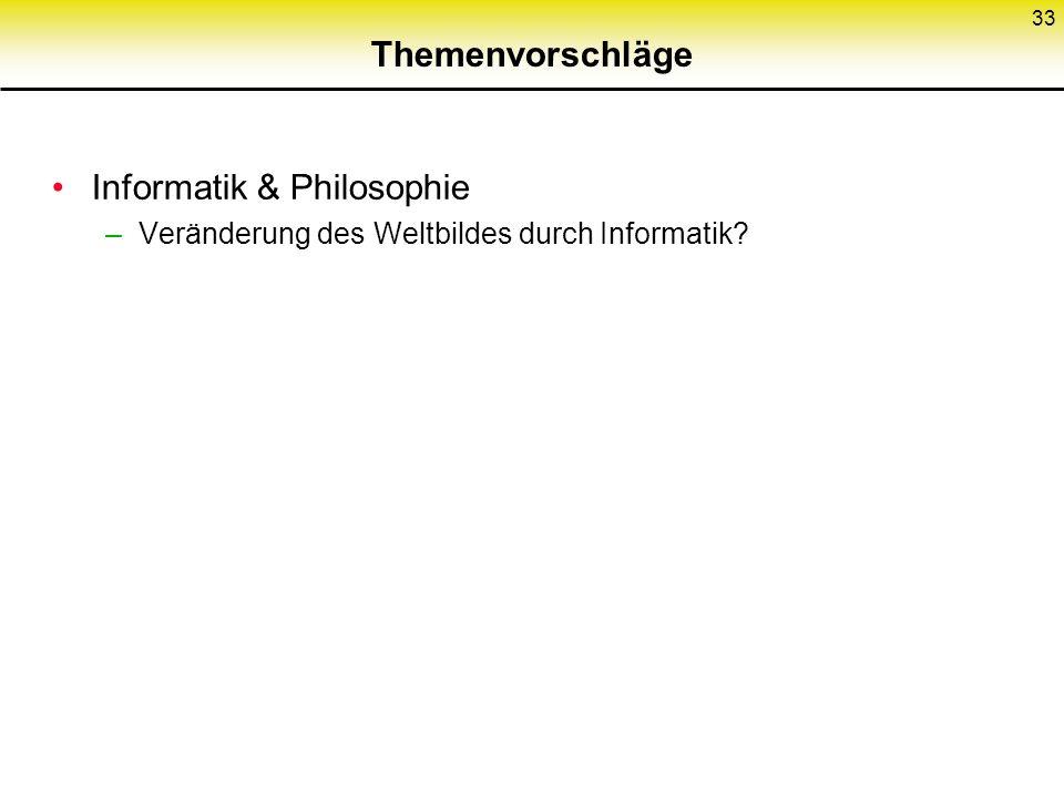 Informatik & Philosophie