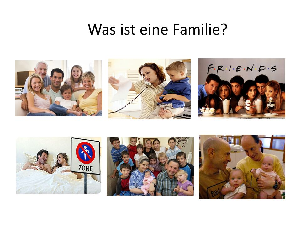 Was ist eine Familie